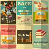 Back to School — Stockvector