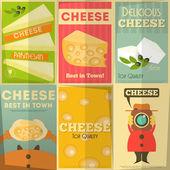 チーズ — ストックベクタ