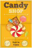 Candy Shop — Stock Vector