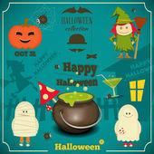 Halloween-kort — Stockvektor