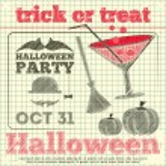 Halloween Party Invitation — Stock Vector #51562301