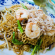 Asian style noodle with pork and shrimp — Stock Photo #19653705