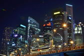 SINGAPORE - JUNE 27: Building in the city — 图库照片