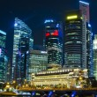 SINGAPORE - JUNE 27: Building in the city — Stock Photo