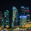 Singapore city skyline view of business district in the night ti — Stock Photo #27979907