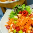 Thai style food spicy vegetables and fruits salad — Stock Photo #30310329
