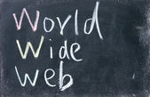 World wide web sign — Stock Photo