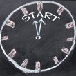 Start time clock — Stock Photo #22437243
