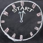 Start time clock — Stock Photo #22437243