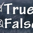 True and false choice — Stock Photo #23555009
