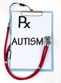AUTISM sign — Stock Photo