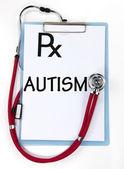 Autismus-Zeichen — Stockfoto