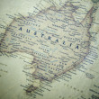 Stock Photo: Australia map