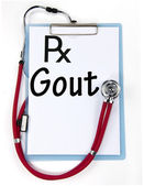 Gout sign — Stock Photo