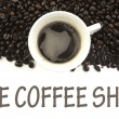 The coffee shop sign — Stock Photo #24414889
