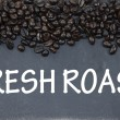 Stock Photo: Fresh roast sign