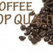 Royalty-Free Stock Photo: Coffee top quality sign