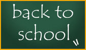 Back to school title symbol — Stock Photo