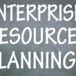 Enterprise resource planning symbol — Stock Photo