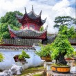 Chinese courtyard — Stock Photo