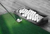 гольф практика — Стоковое фото