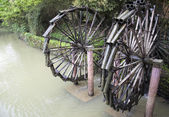 Waterwheel in china — Foto Stock