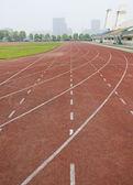 Pista de Atletismo — Fotografia Stock