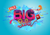 Loja de departamento grande venda promo — Vetorial Stock
