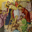 Jerusalem Holy Sepulcher Deposition of Christ 2012 - Stock Photo