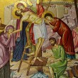 Jerusalem Holy Sepulcher Deposition of Christ 2012 — Stock Photo #19449425