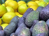 Tel Aviv avocado and lemons 2013 — Stock Photo