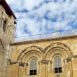 Jerusalem Holy Sepulcher windows December 2012 — Stock Photo