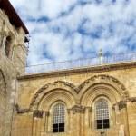 Jerusalem Holy Sepulcher windows December 2012 — Stock Photo #49665855