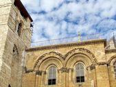 Jerusalem Holy Sepulcher windows December 2012 — Stock Photo
