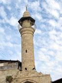 Jaffa Al-siksik Mosque minaret 2012 — Stock Photo