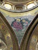 Jerusalem Holy Sepulcher evangelist John 2012 — Stock Photo