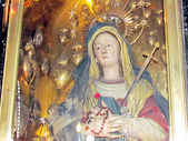 Jerusalem Holy Sepulcher altar of Our Lady of Sorrows 2012 — Stock Photo