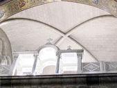 Jerusalem Holy Sepulcher upper balcony of Catholicon 2012 — Stok fotoğraf
