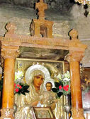 Jerusalem Tomb of the Virgin the Icon of Our Lady of Jerusalem — Stockfoto
