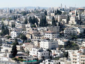 Jerusalem view from Mount Scopus 2010 — Foto de Stock