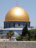 Jerusalem Rock Mosque 2010 — ストック写真