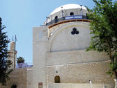 Jerusalem Hurva Synagogue and minaret 2010 — Stockfoto