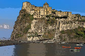 Aragonese castle (Ischia island Italy) Stylize — Stock Photo