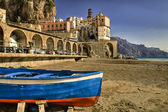 Atrani Fishing villave Amalfi coast — Stockfoto