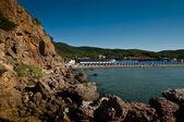 Castiglione della Pescaia (grosseto Italy) Le Rocchette beach — Stockfoto