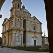 Stock Photo: Sanctuary of Madonndi SBiagio : Montepulciano Ital