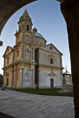 The Sanctuary of the Madonna di San Biagio : Montepulciano Ital — Stock Photo