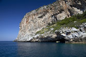 Blue Cave Dino Island Praia a Mare Italy — Photo