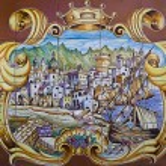 Artistic ceramic of Forio Ischia island (Italy) — Stock Photo #30352603