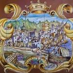 Artistic ceramic of Forio Ischia island (Italy) — Stock Photo